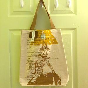 Loungefly Star Wars Luke & Leia Canvas Tote Bag